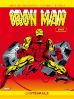 Integrale Iron Man 1968 T04 de Lee Goodwin Colan Cr chez Panini