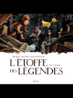 L'etoffe Des Legendes T02 La Jungle de Wilson Raicht Smith chez Soleil