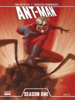 Ant Man Season One de Defalco-t Domingues- chez Panini
