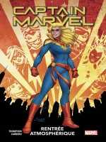 Captain Marvel T01: Rentree Atmospherique de Thompson/carnero chez Panini