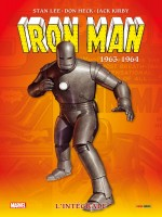 Iron-man: L'integrale T01 (1963-1964) de Lee/kirby/heck chez Panini