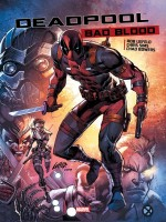 Deadpool Bad Blood de Sims Chris chez Panini