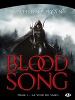 Blood Song, T1 : La Voix Du Sang de Ryan Anthony chez Milady Imaginai