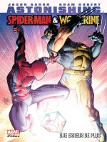 Astonishing Spider-man/wolverine de Aaron-j Kubert-a chez Panini