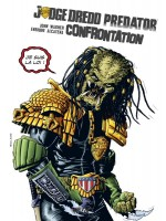 Judge Dredd / Predator : Confrontation - Ed. Hardcore de John Wagner chez Wetta Worldwide