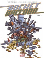 Rocket Raccoon Marvel Now T02 de Wexler-d chez Panini