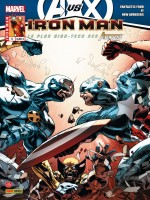 Iron Man 2012 005  Avengers Vs X-men de Hickman/fraction chez Panini Com Mag