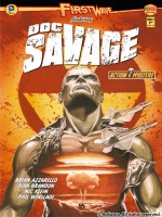 First Wave Doc Savage T02 de Azzarello Brian chez Ankama