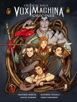 Critical Role Vox Machina - Origines T1 de Mercer/colville chez Akileos